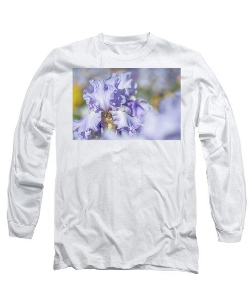 Absolute Treasure 1. The Beauty Of Irises Long Sleeve T-Shirt