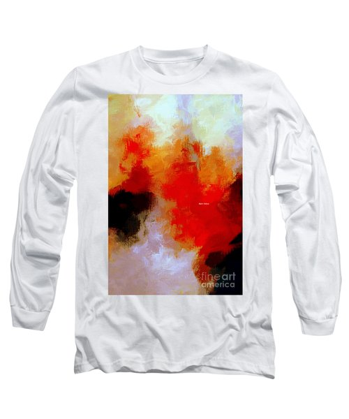 Long Sleeve T-Shirt featuring the digital art Abstract 1909f by Rafael Salazar