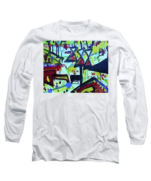 Abstract-27 Long Sleeve T-Shirt