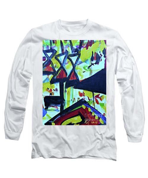 Abstract-27 Long Sleeve T-Shirt