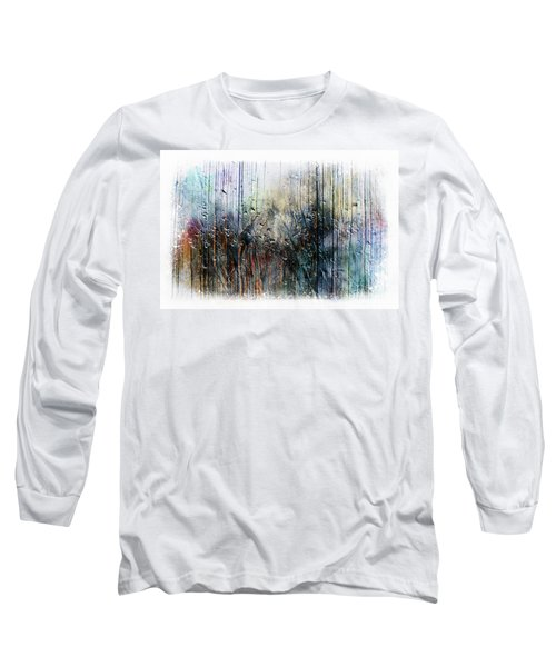 2f Abstract Expressionism Digital Painting Long Sleeve T-Shirt
