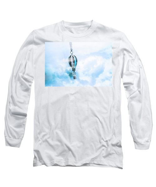 Abstract Air Baloon Hanging On Chain Long Sleeve T-Shirt