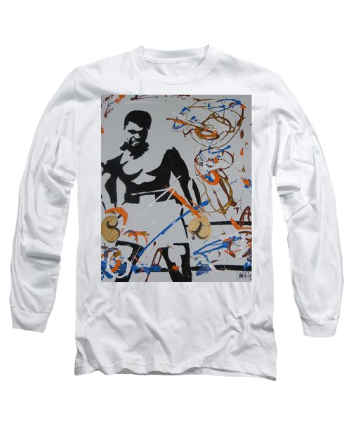 Abstract Ali Long Sleeve T-Shirt