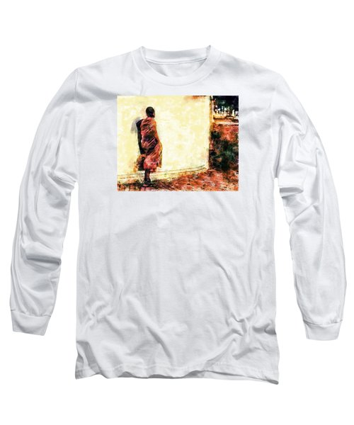 Abstract And Bold Long Sleeve T-Shirt