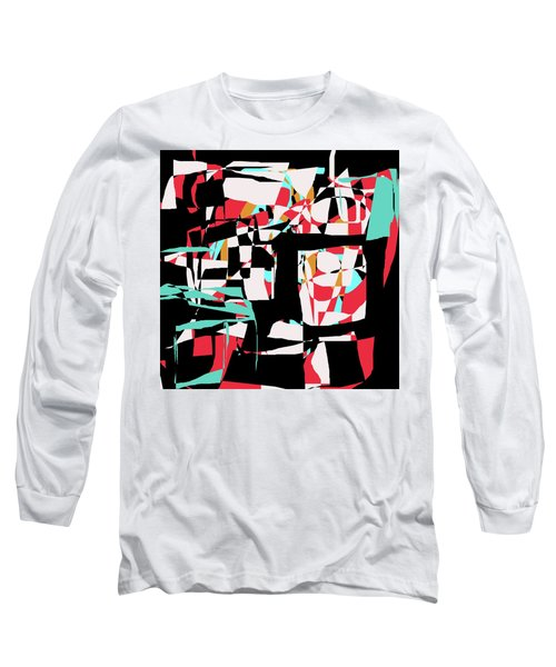 Abstract Boxes Long Sleeve T-Shirt