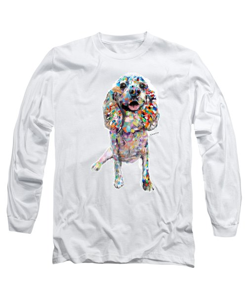 Abstract Cocker Spaniel Long Sleeve T-Shirt