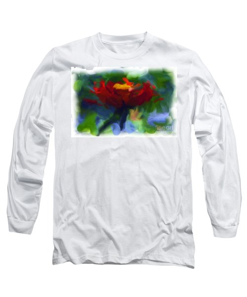 Abstract Flower Expressions 2 Long Sleeve T-Shirt