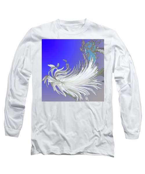 Abstract Flowers Of Light Series #4 Long Sleeve T-Shirt