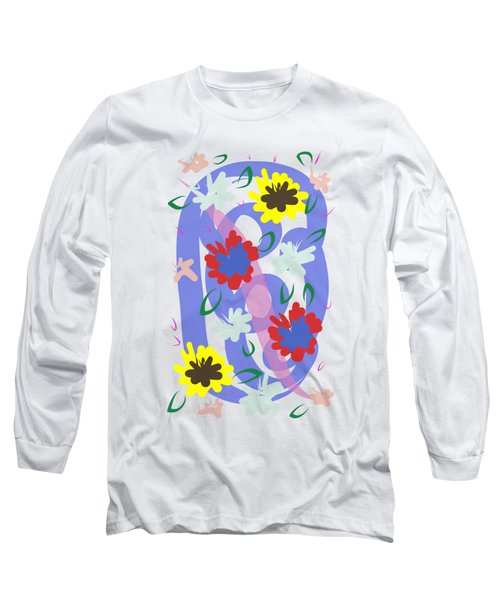 Abstract Garden #1 Long Sleeve T-Shirt