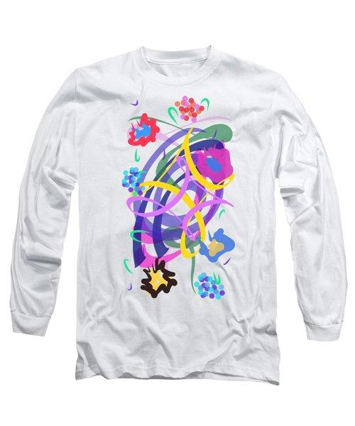 Abstract Garden #2 Long Sleeve T-Shirt