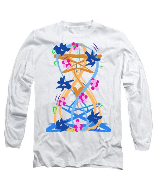 Abstract Garden #3 Long Sleeve T-Shirt