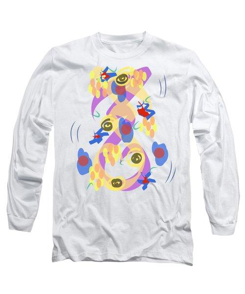 Abstract Garden #5 Long Sleeve T-Shirt
