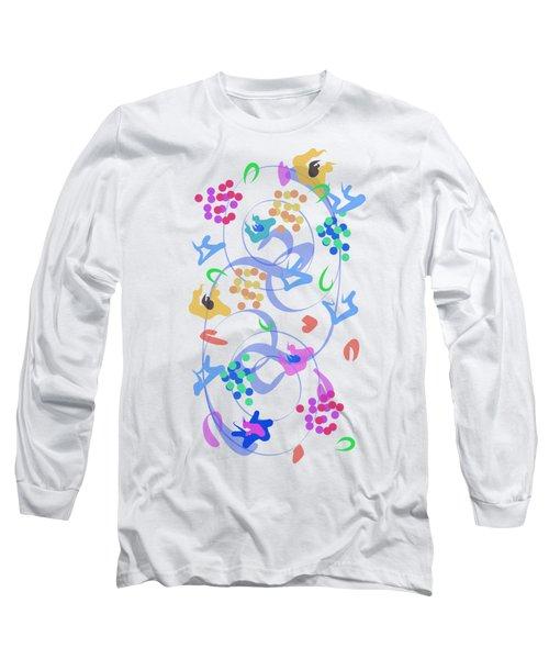 Abstract Garden Nr 6 Long Sleeve T-Shirt