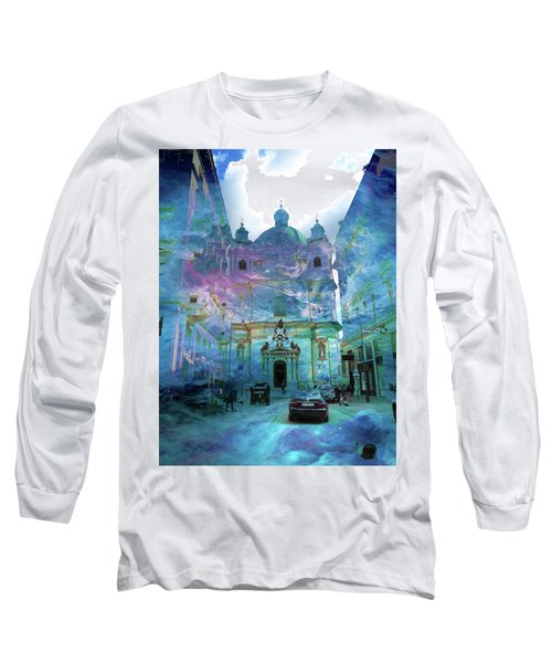 Abstract  Images Of Urban Landscape Series #9 Long Sleeve T-Shirt