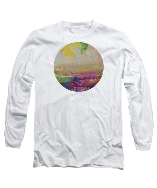 Abstract Impressions- Number 2 Long Sleeve T-Shirt