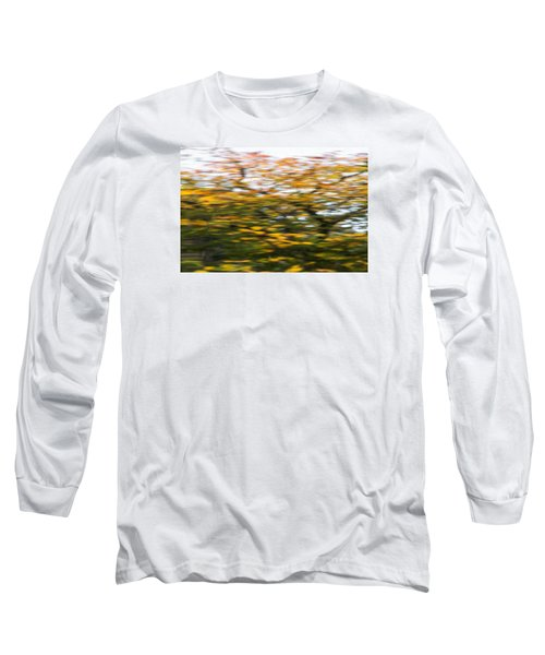 Abstract Of Maple Tree Long Sleeve T-Shirt