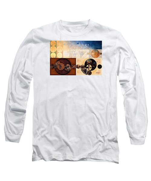 Abstract Painting - Dairy Cream Long Sleeve T-Shirt