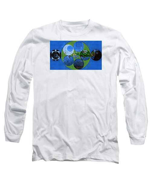 Abstract Painting - Everglade Long Sleeve T-Shirt