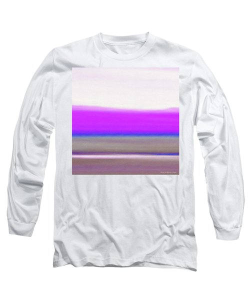 Abstract Sunset 65 Long Sleeve T-Shirt