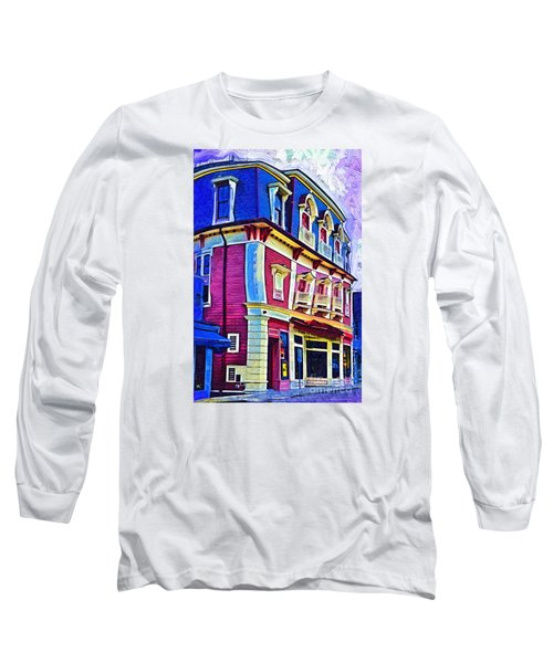 Abstract Urban Long Sleeve T-Shirt by Kirt Tisdale