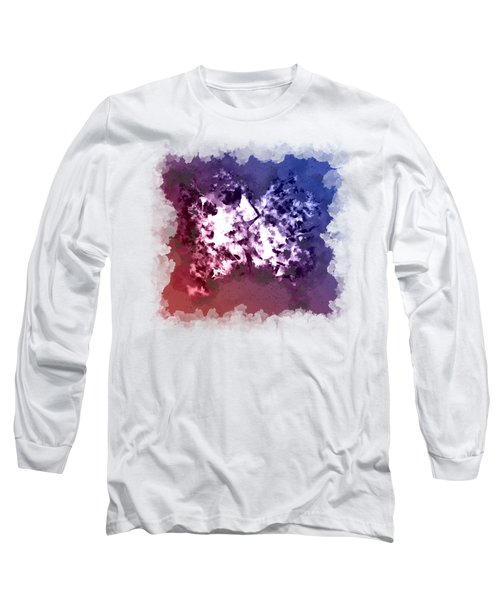 Abstraction Of The Ink Kiss  Long Sleeve T-Shirt