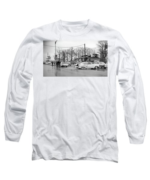 Accident 1 Long Sleeve T-Shirt by Paul Seymour