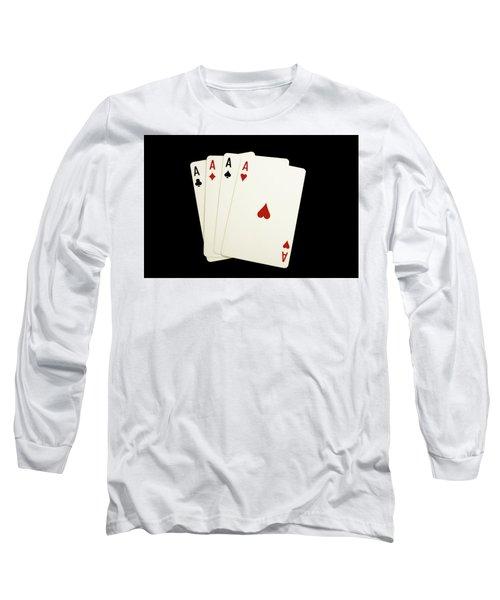 Aces Long Sleeve T-Shirt