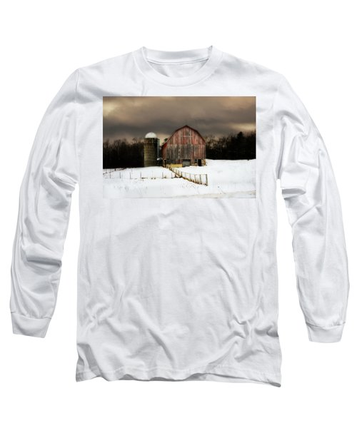 Long Sleeve T-Shirt featuring the photograph Acorn Acres by Julie Hamilton