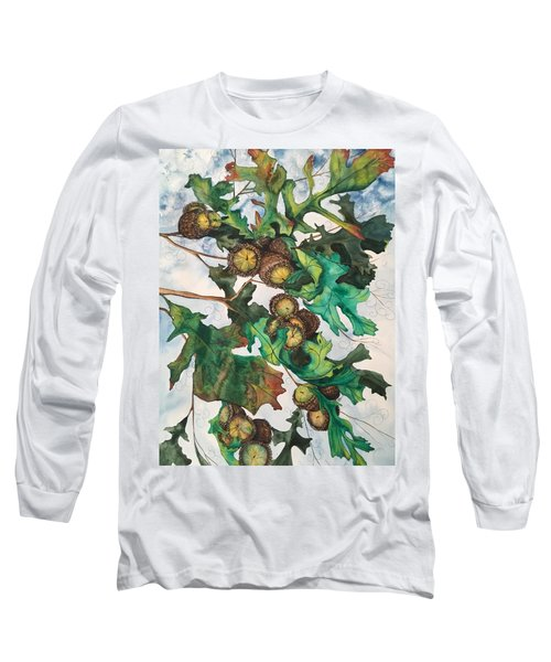 Acorns On An Oak  Long Sleeve T-Shirt