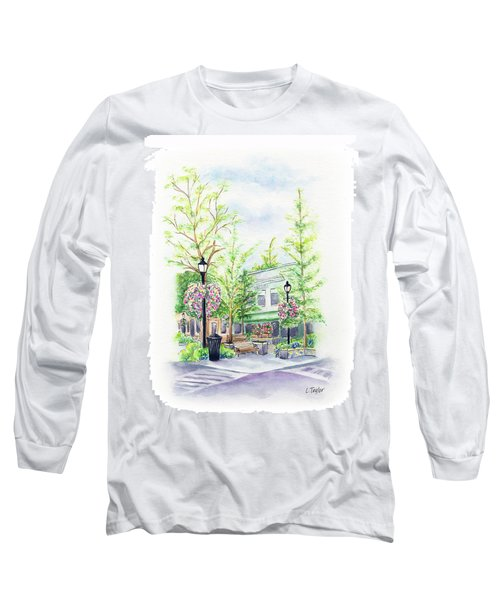 Across The Plaza Long Sleeve T-Shirt