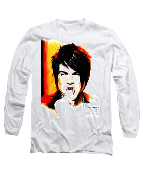 Adam Lambert Long Sleeve T-Shirt