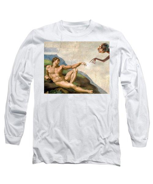 Adam's Creation Vrs Et Long Sleeve T-Shirt by Gina Dsgn