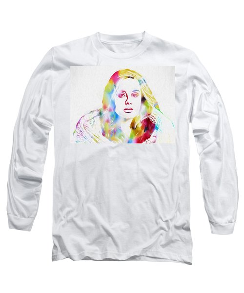 Adele Long Sleeve T-Shirt by Dan Sproul