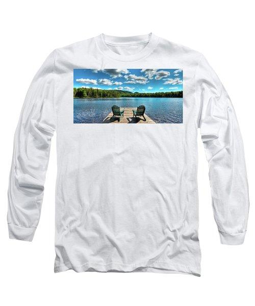 Adirondack Panorama Long Sleeve T-Shirt