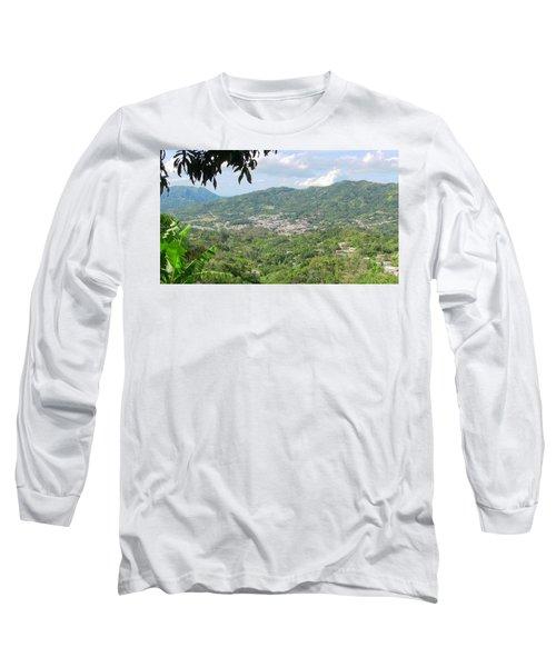 Adjuntas Town Long Sleeve T-Shirt