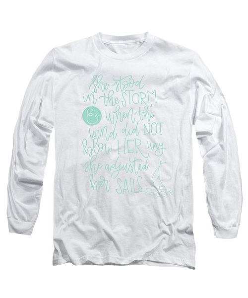 Adjusted Her Sails Long Sleeve T-Shirt