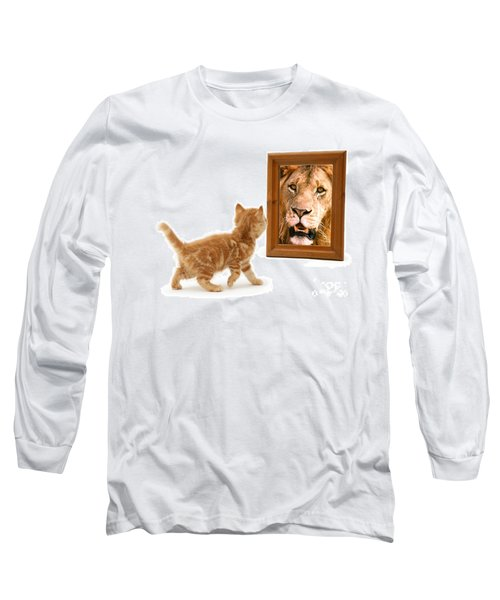 Admiring The Lion Within Long Sleeve T-Shirt