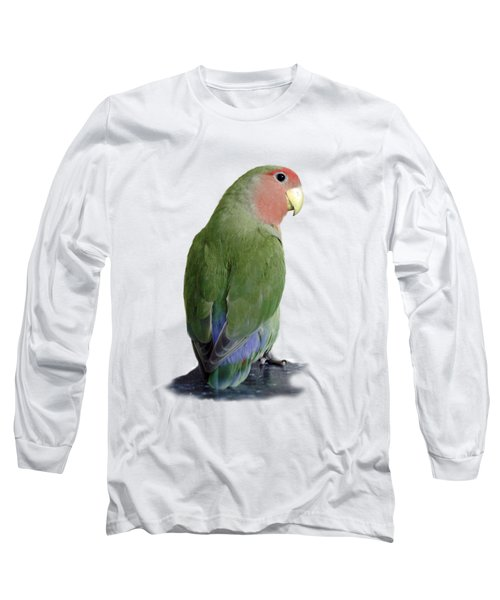 Adorable Pickle On A Transparent Background Long Sleeve T-Shirt by Terri Waters