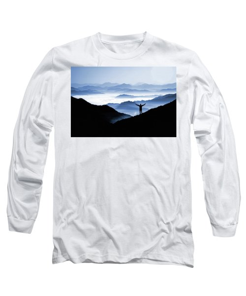 Adoration Of Natural Beauty Long Sleeve T-Shirt