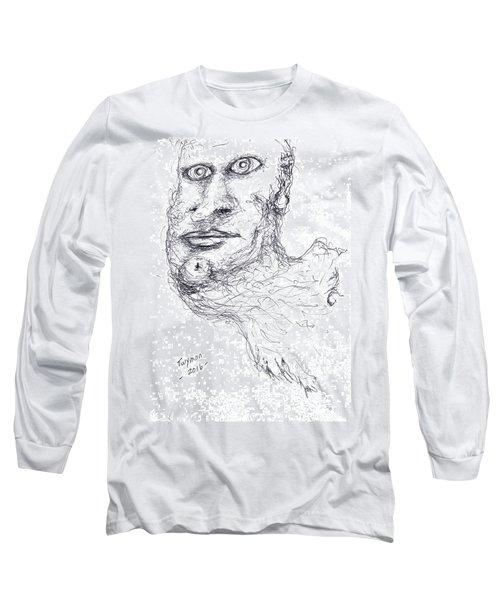 Adrift Long Sleeve T-Shirt by Dan Twyman