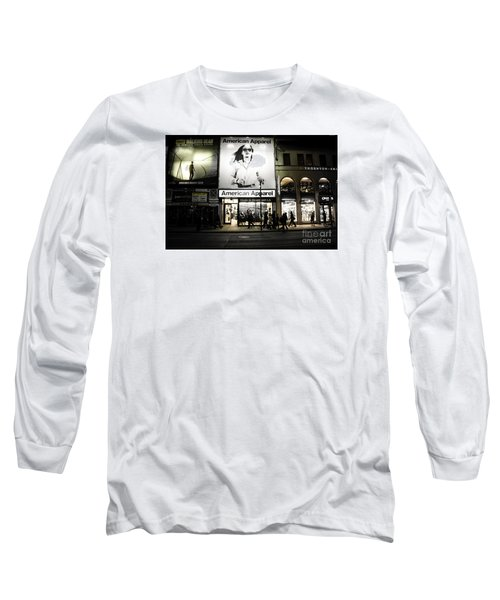 Advertising  Long Sleeve T-Shirt