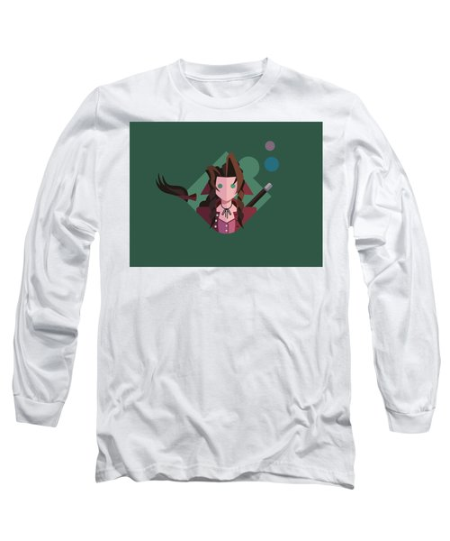 Long Sleeve T-Shirt featuring the digital art Aeris by Michael Myers