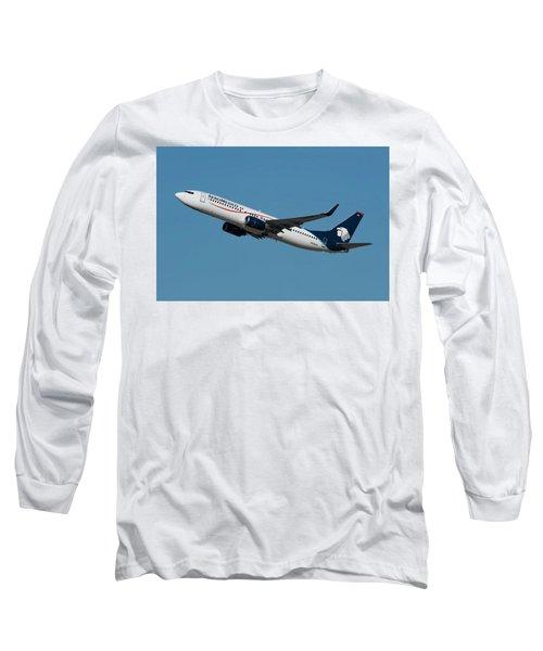 Aeromexico Boeing 737-800 Long Sleeve T-Shirt