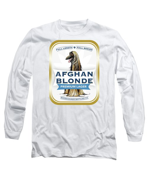 Afghan Blonde Premium Lager Long Sleeve T-Shirt