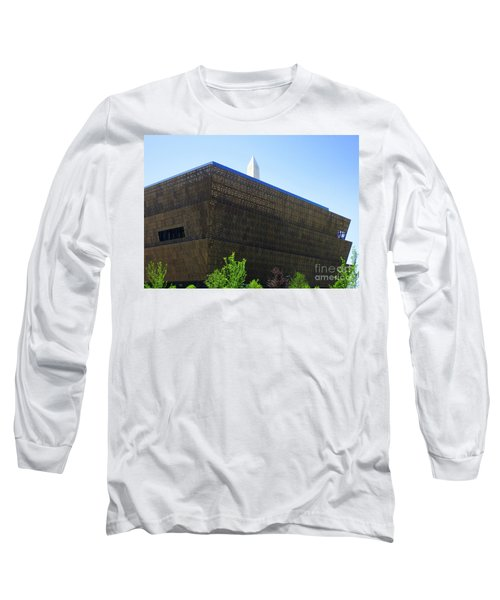 African American History And Culture 1 Long Sleeve T-Shirt by Randall Weidner