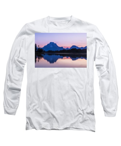Long Sleeve T-Shirt featuring the photograph After Glow by Andrew Soundarajan