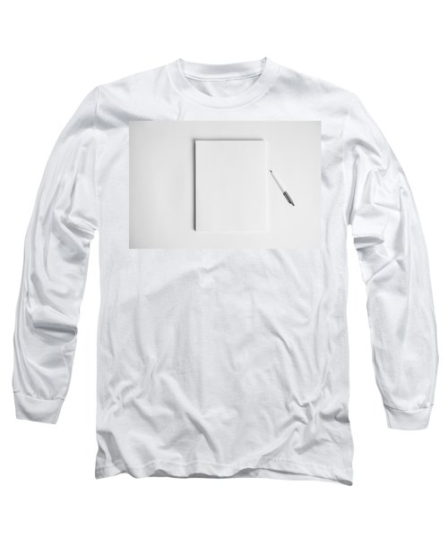 Long Sleeve T-Shirt featuring the photograph To Be Filled In Anyway You Like It by Yvette Van Teeffelen
