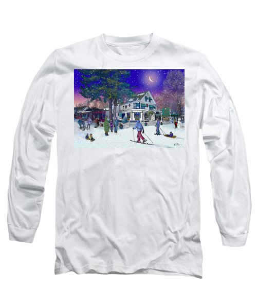 After The Storm At Woodstock Inn Long Sleeve T-Shirt by Nancy Griswold