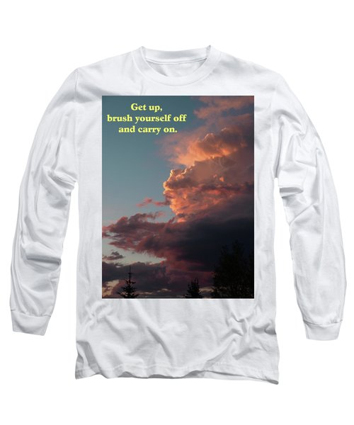 Long Sleeve T-Shirt featuring the photograph After The Storm Carry On by DeeLon Merritt