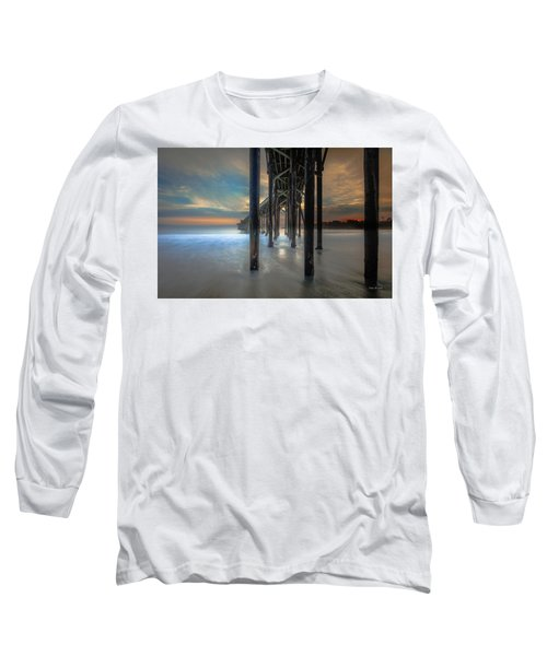 Afterglow At San Simeon Long Sleeve T-Shirt